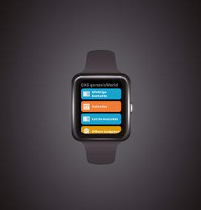 CAS genesisWorld x13 Smartwatch